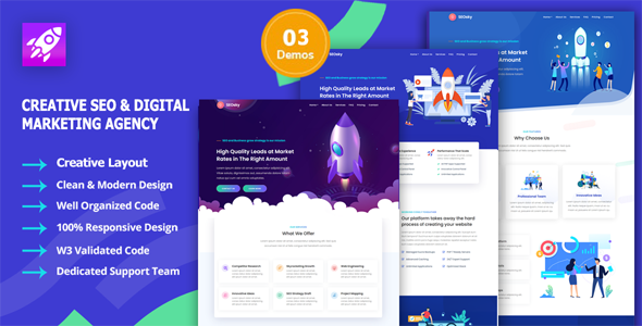 [Free Download] SEOsky – SEO & Digital Marketing Agency (Nulled) [Latest Version]