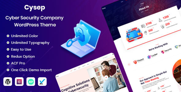 [Free Download] Cysep – Cyber Security Services WordPress Theme (Nulled) [Latest Version]