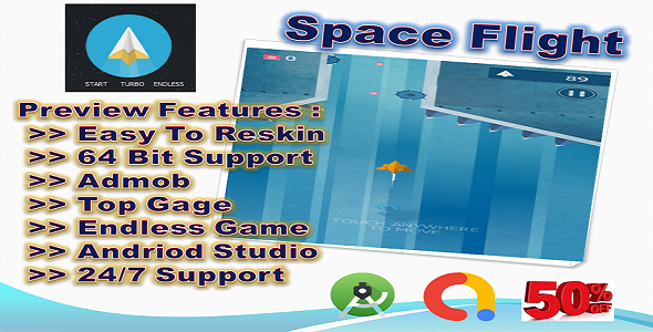 [Free Download] Space Flight (compete game+admob+android) (Nulled) [Latest Version]