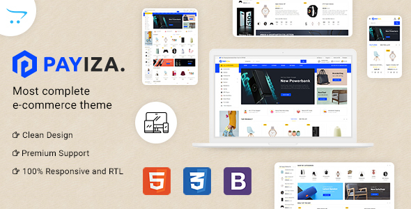 [Free Download] Payiza – eCommerce OpenCart Theme (Nulled) [Latest Version]