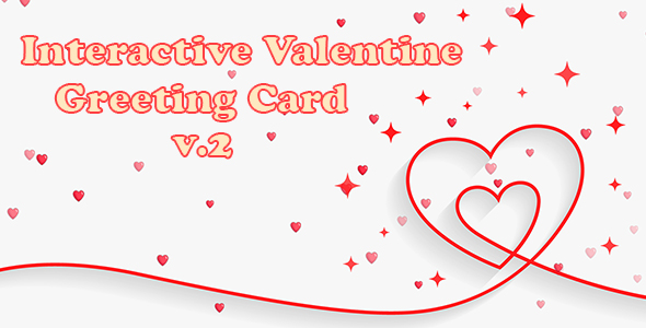 [Free Download] Interactive Valentine Greeting Card v.2 (Nulled) [Latest Version]