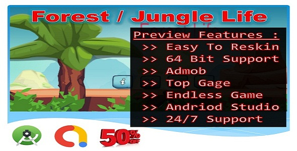 [Free Download] Jungle Forest Life (Compete game+admob+android) (Nulled) [Latest Version]