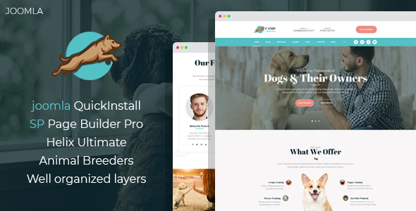 [Free Download] Venator – Dog Behavior and Obedience Training Joomla Template (Nulled) [Latest Version]