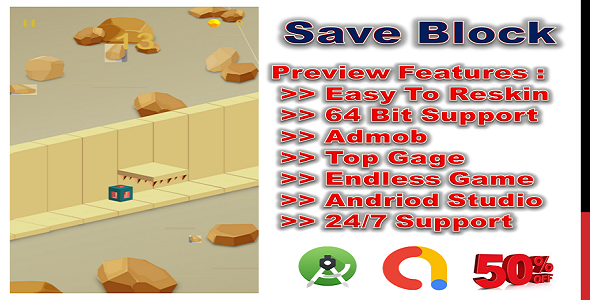 [Free Download] Save Block (compete game+admob+android) (Nulled) [Latest Version]