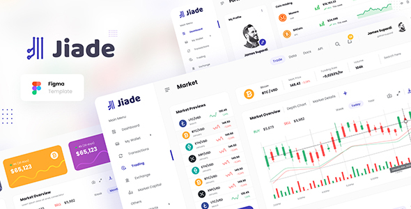 [Free Download] Jiade – Modern Crypto Trading UI Template Figma (Nulled) [Latest Version]