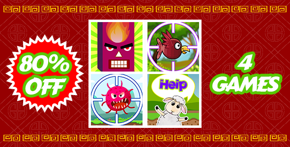 [Free Download] Tiny Lunar Year Bundle – 4 Attractive Unity Games – Admob Ready (Nulled) [Latest Version]