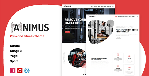 [Free Download] Animus – Gym and Fitness Theme (Nulled) [Latest Version]