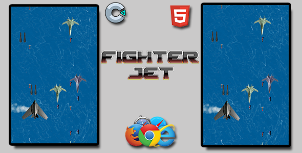 [Free Download] Fighter Jet – HTML5 Mobile Game (Nulled) [Latest Version]