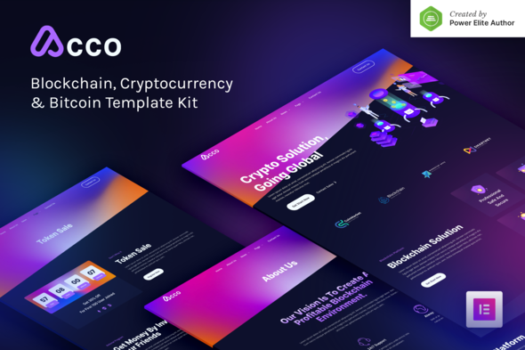 [Free Download] Acco – Blockchain Cryptocurrency & Bitcoin Elementor Template Kit (Nulled) [Latest Version]
