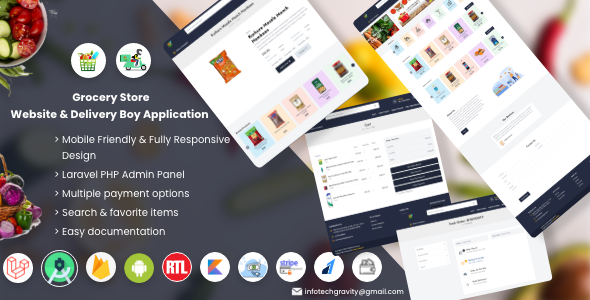 [Free Download] Single Grocery, Food, Pharmacy Store Website & Delivery Boy Application With Admin Panel (Nulled) [Latest Version]
