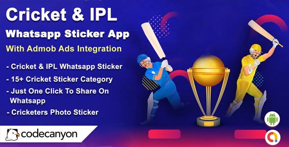 [Free Download] Android Cricket & IPL Whatsapp Sticker (Android 10 Supported) (Nulled) [Latest Version]