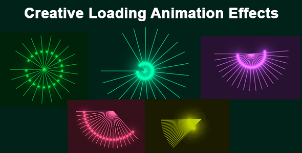 [Free Download] Creative Loading Animation Effects (Nulled) [Latest Version]