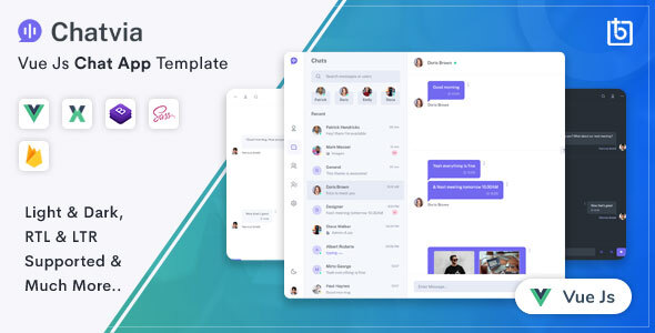 [Free Download] Chatvia – VueJs  Chat App Template (Nulled) [Latest Version]