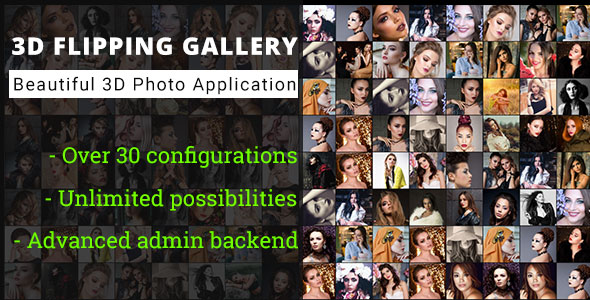 [Free Download] 3D Flipping Grid Gallery – Advanced Media Gallery (Nulled) [Latest Version]