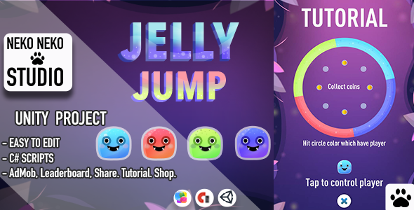 [Free Download] Jelly Jump (Nulled) [Latest Version]