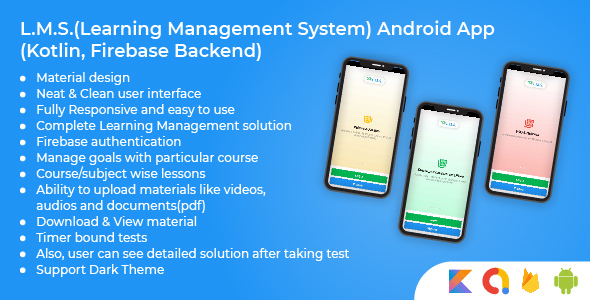 [Free Download] Learning Management System Android App Using Kotlin & Firebase (Nulled) [Latest Version]