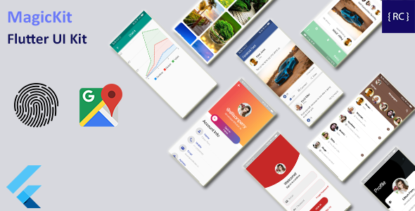 [Free Download] Flutter UI Kit – MagicKit (Nulled) [Latest Version]