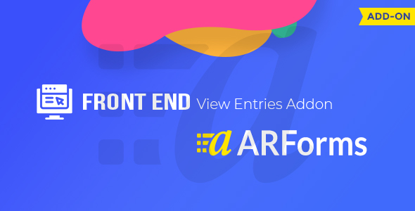 [Free Download] Front-end Entries View For ARForms (Nulled) [Latest Version]