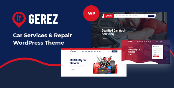 [Free Download] Gerez – Car Services & Repair WordPress Theme (Nulled) [Latest Version]