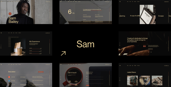 [Free Download] SamBailey – Personal CV/Resume HTML Template (Nulled) [Latest Version]