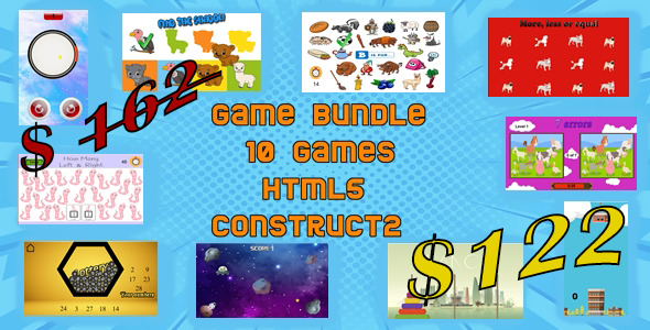 [Free Download] BUNDLE GAMES – HTML5 (Nulled) [Latest Version]