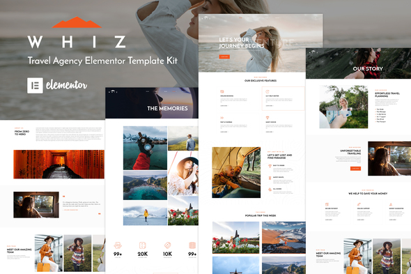 [Free Download] Whiz – Travel Agency Elementor Template Kit (Nulled) [Latest Version]