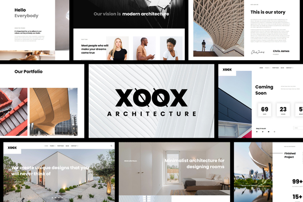 [Free Download] XOOX – Architecture Agency Elementor Template Kit (Nulled) [Latest Version]