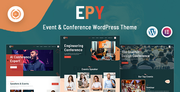 [Free Download] Epy | Event Conference WordPress Theme (Nulled) [Latest Version]