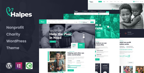 [Free Download] Halpes – Nonprofit Charity WordPress Theme (Nulled) [Latest Version]