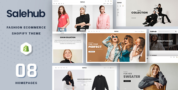 [Free Download] SaleHub – Clothing and Fashion Shopify Theme (Nulled) [Latest Version]