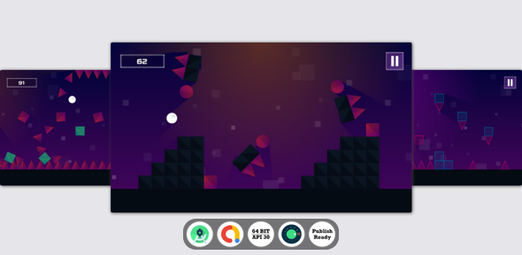 [Free Download] Impossible Bounce Android Game with Admob Ads + reward video + Android Studio + ready to publish (Nulled) [Latest Version]