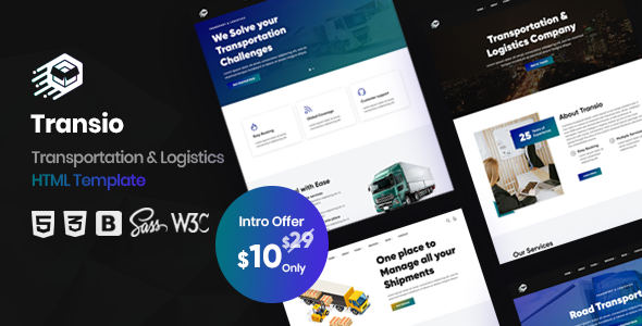 [Free Download] Transio – Transportation & Logistics HTML Template (Nulled) [Latest Version]