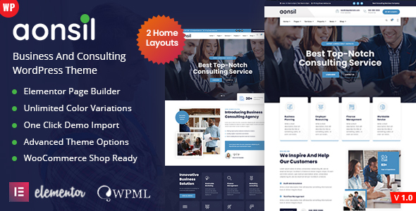 [Free Download] Aonsil – Business Consulting WordPress Theme (Nulled) [Latest Version]