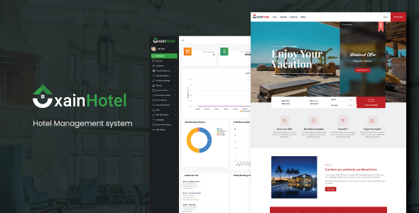 [Free Download] Xain – Hotel Management System with Website (Nulled) [Latest Version]