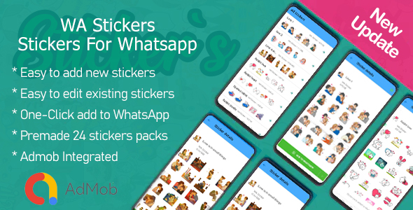 [Free Download] WA Stickers – Stickers For Whatsapp (Nulled) [Latest Version]