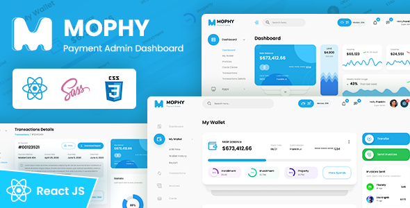 [Free Download] MOPHY – Payment React Admin Dashboard Template (Nulled) [Latest Version]