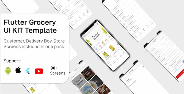[Free Download] Freshly – Grocery Flutter App UIKIT Customer, Rider And Store All In One (Nulled) [Latest Version]