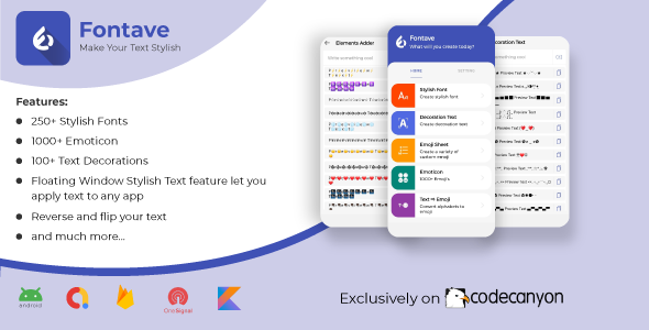 [Free Download] Fontave – Fancy and Stylish Font for Social Media (Nulled) [Latest Version]