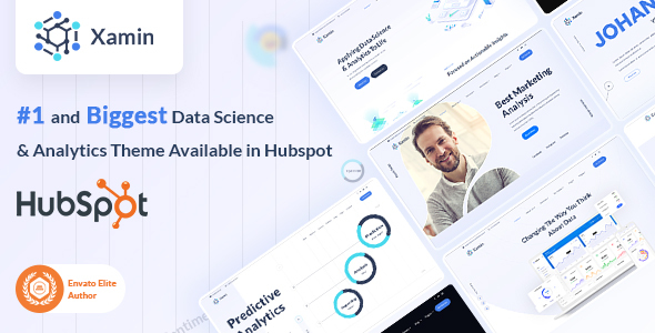 [Free Download] Xamin | Data Science & Technology HubSpot Theme (Nulled) [Latest Version]