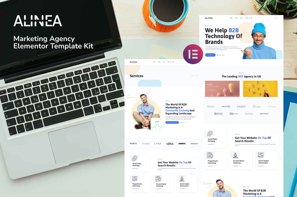 [Free Download] Alinea – Marketing Agency Elementor Template Kit (Nulled) [Latest Version]