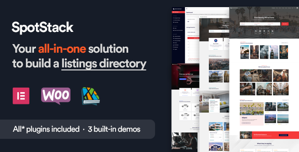 [Free Download] SpotStack – Directory & Listing WordPress Theme (Nulled) [Latest Version]