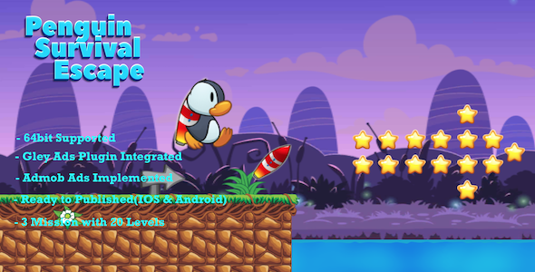 [Free Download] Penguin Survival Escape – Complete Unity Template (Nulled) [Latest Version]
