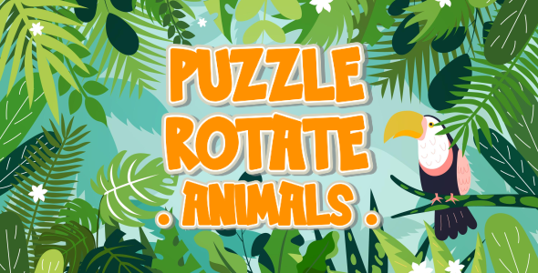 [Free Download] Puzzle Rotate – Animals – HTML5 Game (Construct 3) (Nulled) [Latest Version]