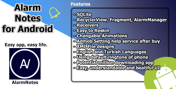 [Free Download] AlarmNotes (Nulled) [Latest Version]