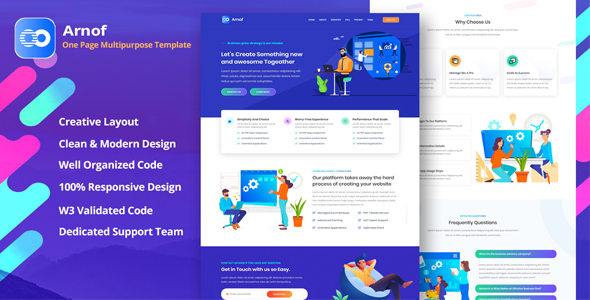 [Free Download] Arnof – Business & Digital Agency (Nulled) [Latest Version]