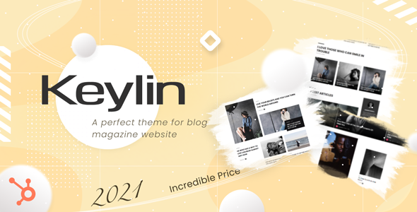 [Free Download] Keylin – Magazine and Blog HubSpot Theme (Nulled) [Latest Version]