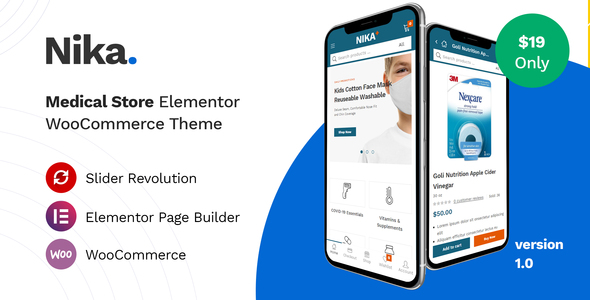 [Free Download] Nika – Medical Elementor WooCommerce Theme (Nulled) [Latest Version]