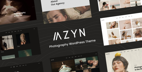[Free Download] AZYN – Photography WordPress (Nulled) [Latest Version]