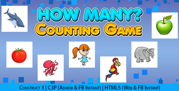 [Free Download] How Many Kids Educational Counting Game (Construct 3 | C3P | HTML5) Admob and FB Instant Ready (Nulled) [Latest Version]