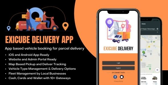 [Free Download] Exicube Delivery App (Nulled) [Latest Version]
